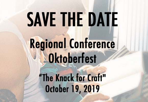 """SAVE THE DATE Regional conference Oktoberfest's """"The Knack for Craft"""