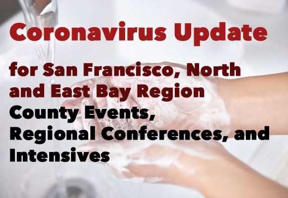Coronavirus Update for San Francisco North and East Bay Region County Events, Regional Conferences, and Intensives During this period of public health concerns, SCBWI has modified its cancellation/refund policy for all events as follows: If you need to cancel for health related concerns and cannot attend an event, you will be able to receive a full tuition refund so that you can stay home, take care of yourself, and prevent the spread of illness. This policy is in effect until September 1, 2020. Be well. Updated 3/12/2020 Everyone at SCBWI.org has been monitoring the coronavirus situation closely. The situation is dynamic and changing rapidly. Please contact your Co-RAs, Lisa and Shells, if you would like to request a conference cancellation before a conference or event. With the the novel intensive, we will make a decision about the format on the week of March 16th so please check your emails. Lisa: sfnortheastbay-ra2@scbwi.org Shells: sfnortheastbay-ra@scbwi.org If you do attend an event, please follow these health safety precautions: Please do not attend if you are sick at all, even with a common cold. While at the conference, please wash your hands frequently. Also, try to avoid touching your face. We will do what we can to offer hand sanitizer at our events to supplement regular hand washing. Finding these supplies has been difficult, so note that we cannot guarantee it. Please bring your own if possible. (Hand sanitizer must have 60%+ alcohol content to be effective.)  If you are a crafty type, you might even try making your own Homemade Sanitizer. Most people agree old fashioned soap and water is just, if not more, effective. Try to avoid shaking hands and giving hugs — let's wave for now. Note: According to the CDC, masks are not recommended for people who are not sick.
